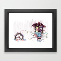 Cuckoo's Nested Fear Framed Art Print