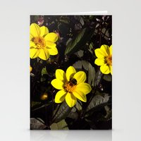 Bee In A Flower Stationery Cards