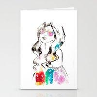Heart Shades And Rainbow… Stationery Cards