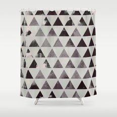 triangles. Shower Curtain