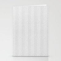Herringbone DIY Stationery Cards