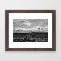 Tetons, Wyoming Framed Art Print