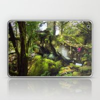 Climbing the Garden Laptop & iPad Skin