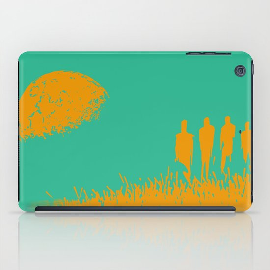 """""""New Moon"""" by Justin Hopkins (Green Version) iPad Case"""