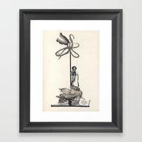 Definition Of A Travel T… Framed Art Print