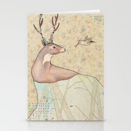 ...tener un bosque dentro. Stationery Card