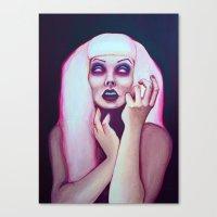 dead chick Canvas Print