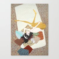 I's Drown In Burgundy Fo… Canvas Print