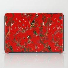 Monkey World Red iPad Case