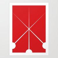 The Three Musketeers Art Print