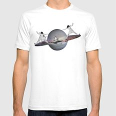 MAGIC ROLLER  Mens Fitted Tee White SMALL