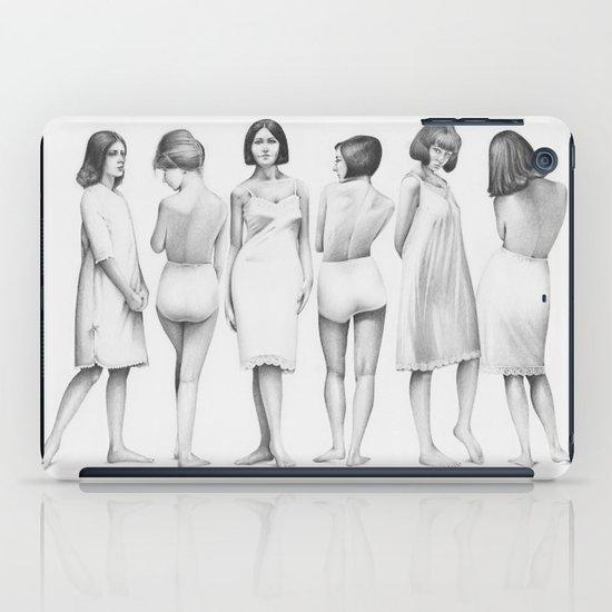 white girls iPad Case
