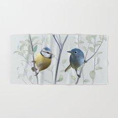 2 birds in tree Hand & Bath Towel