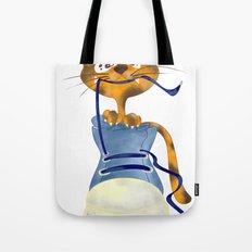 Cat Slipper Tote Bag