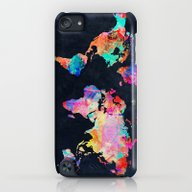 World Map iPod touch Slim Case