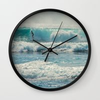 SURF-ACING Wall Clock