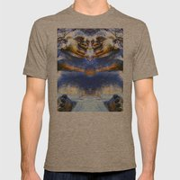 MAITREYA Mens Fitted Tee Tri-Coffee SMALL