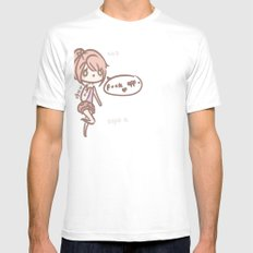 Silly you Mens Fitted Tee SMALL White