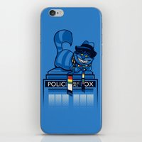 The Cheshire Doctor iPhone & iPod Skin
