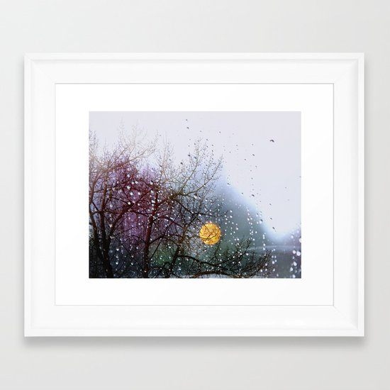 View from my window Framed Art Print