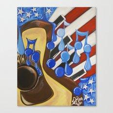 American Sound Canvas Print
