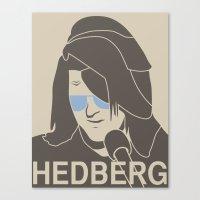 Mitch Hedberg Canvas Print