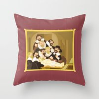 The Anatomy Lesson By Re… Throw Pillow