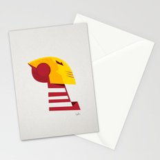 Classic man of iron Stationery Cards