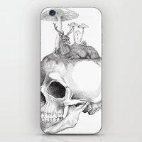 Mushroom B&W iPhone & iPod Skin