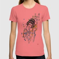 Aquarius, The Freedom Lo… Womens Fitted Tee Pomegranate SMALL