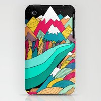iPhone 3Gs & iPhone 3G Cases featuring River in the mountains by Steve Wade
