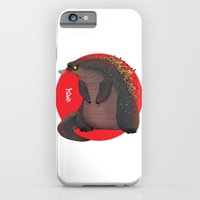iPhone Cases featuring GODZILLA by olivier silven