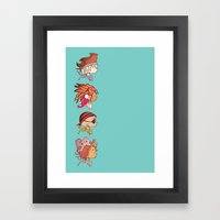 You Are A Pirate Framed Art Print