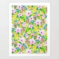 Floreale Art Print