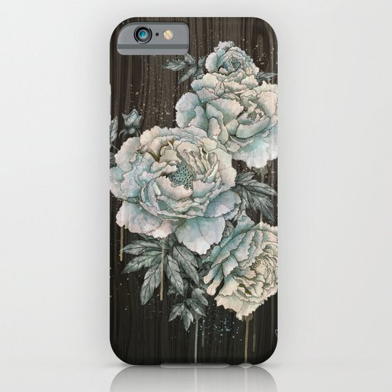 Peony Wood iPhone & iPod Case