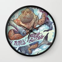 The Vaccines (band poster) Wall Clock