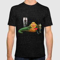 Miley the Hutt Mens Fitted Tee Tri-Black SMALL
