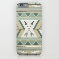 iPhone & iPod Case featuring Aztec Pattern Arrows  by LouJah