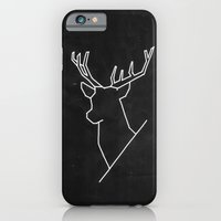 iPhone & iPod Case featuring Geometric Deer by Koning