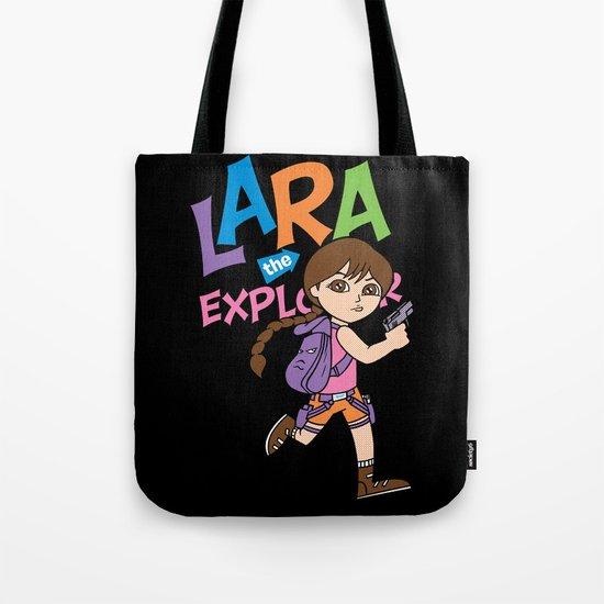 Lara the Explorer Tote Bag