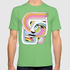 EXIT Mens Fitted Tee Grass SMALL