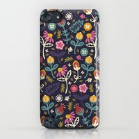 iPod Touch Cases featuring Ditsy Flowers by Poppy & Red