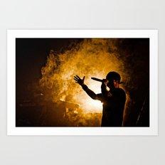 Fire. Art Print
