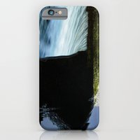 iPhone & iPod Case featuring Reflective Waterfall by Nevermind the Camera