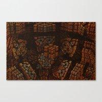 The Copper Archive Canvas Print