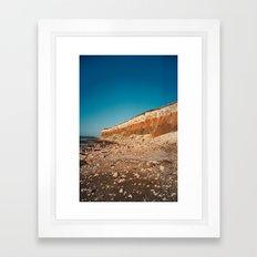 Sunny Hunny Cliffs Framed Art Print