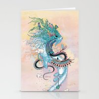 Journeying Spirit (ermine) Stationery Cards