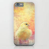 iPhone & iPod Case featuring Birdie by KunstFabrik_StaticMovement Manu Jobst