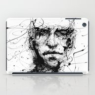 iPad Case featuring Lines Hold The Memories by Agnes-cecile