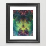 Cosmic Meditation  Framed Art Print